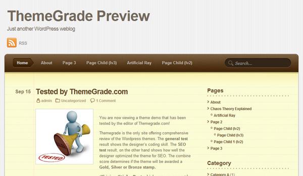 Notepad Theme WordPress Theme Review