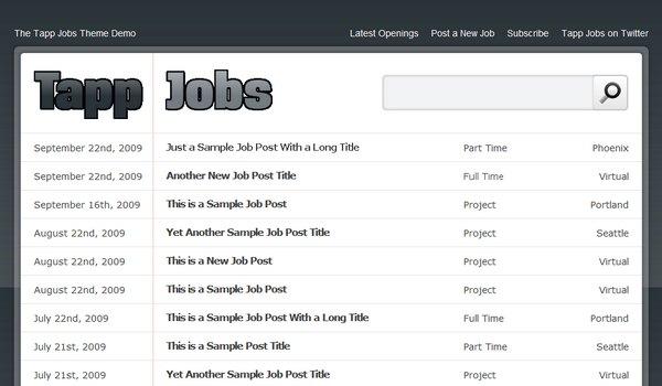 Tapp Jobs