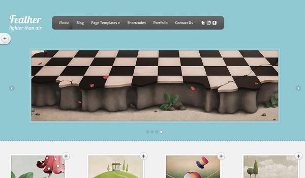 Feather WordPress Theme Review