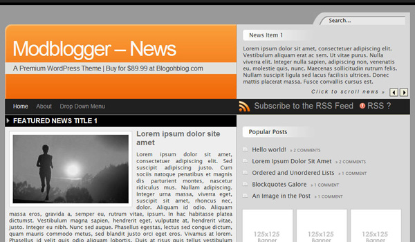 Mod Blogger - News
