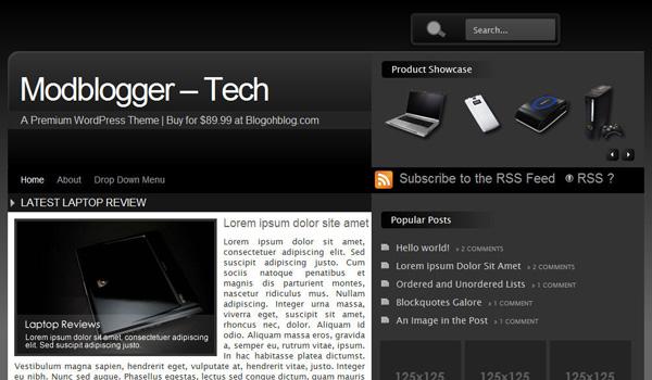 Mod Blogger - Tech