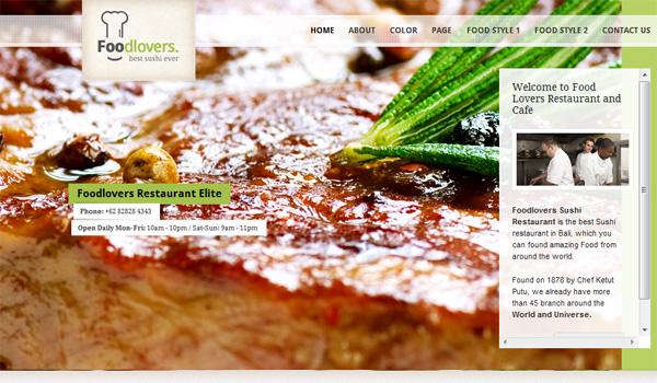 Foodlovers Restaurant Elite
