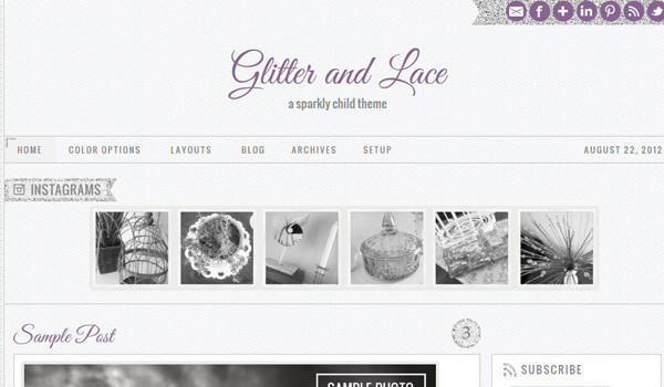 Glitter and Lace