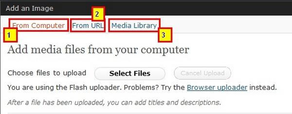 how to add photos to wordpress blof
